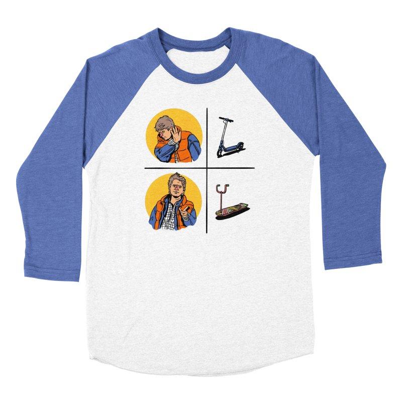 Scooter Women's Baseball Triblend Longsleeve T-Shirt by Rodrigobhz