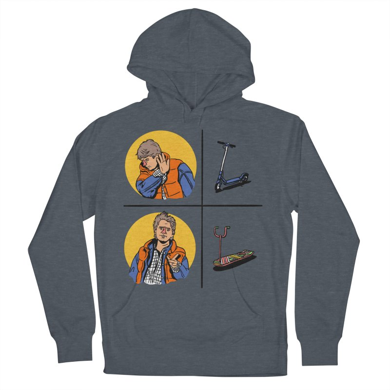 Scooter Women's French Terry Pullover Hoody by Rodrigobhz
