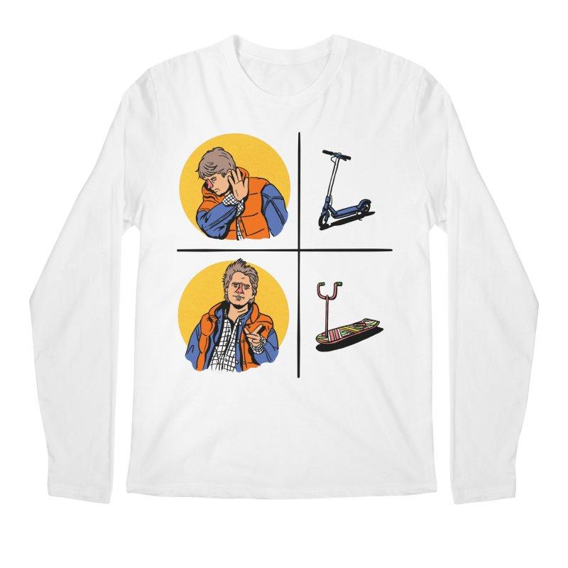 Scooter Men's Regular Longsleeve T-Shirt by Rodrigobhz