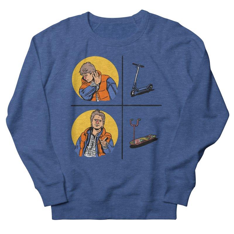 Scooter Men's French Terry Sweatshirt by Rodrigobhz
