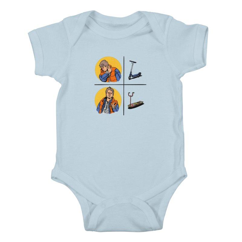 Scooter Kids Baby Bodysuit by Rodrigobhz