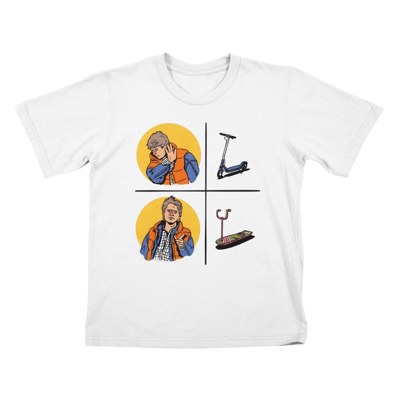 Scooter Kids T-Shirt by Rodrigobhz