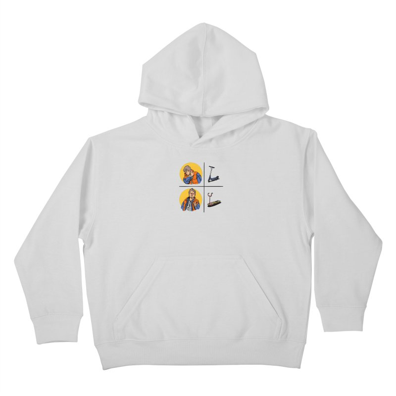 Scooter Kids Pullover Hoody by Rodrigobhz