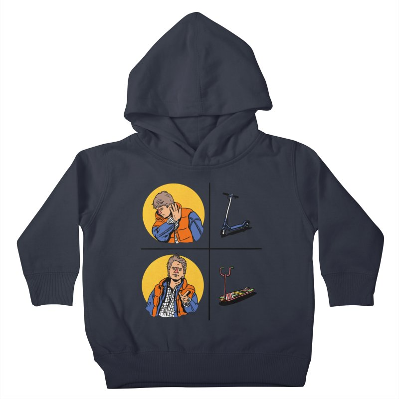 Scooter Kids Toddler Pullover Hoody by Rodrigobhz