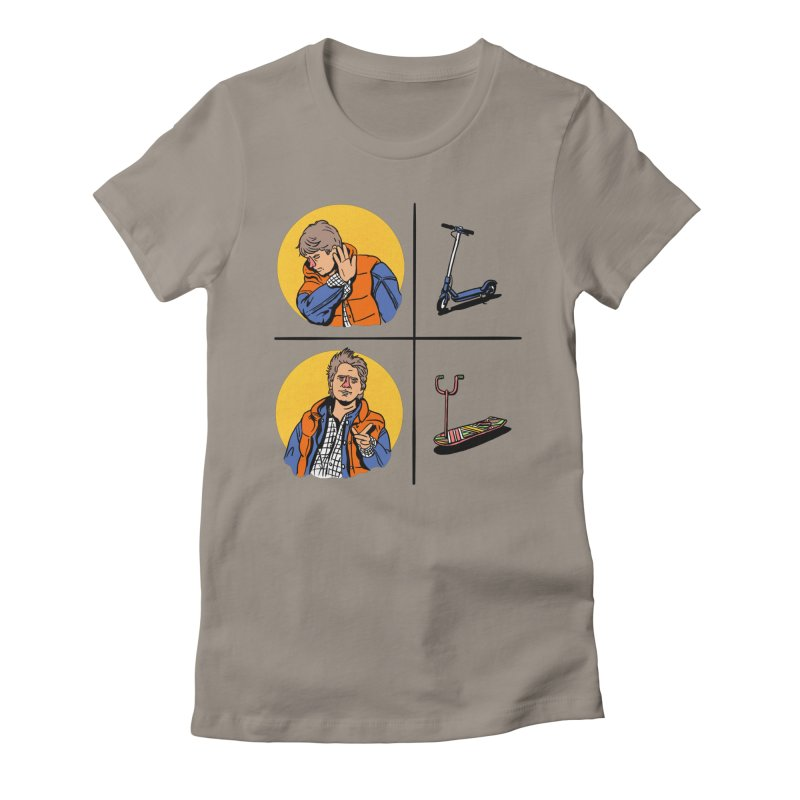 Scooter Women's Fitted T-Shirt by Rodrigobhz