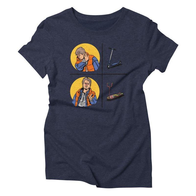 Scooter Women's Triblend T-Shirt by Rodrigobhz