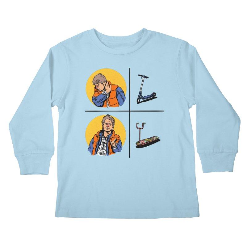 Scooter Kids Longsleeve T-Shirt by Rodrigobhz