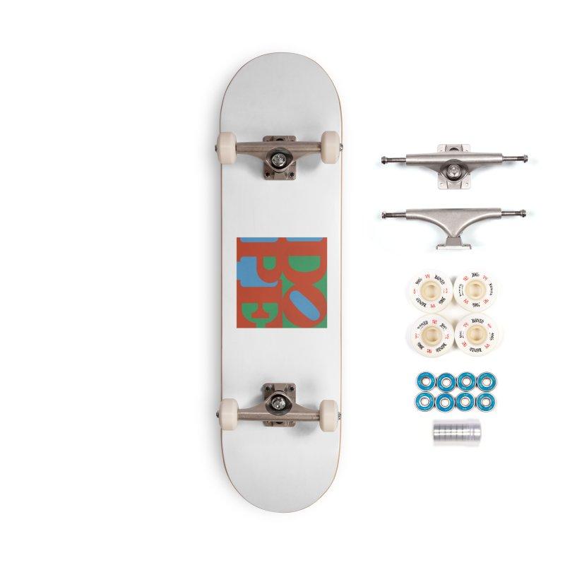 Dope Accessories Complete - Premium Skateboard by Rodrigobhz