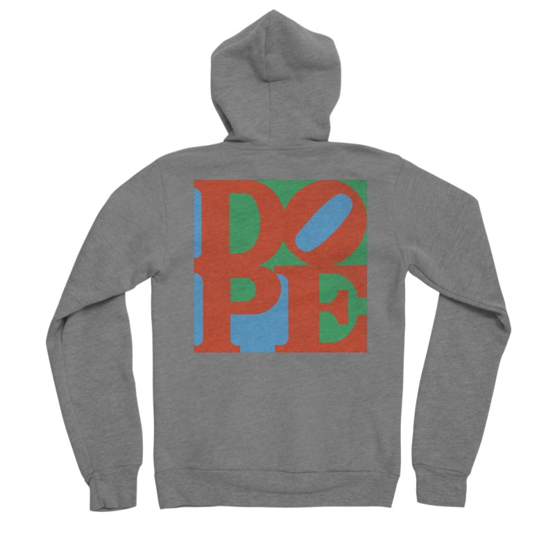 Dope Men's Sponge Fleece Zip-Up Hoody by Rodrigobhz