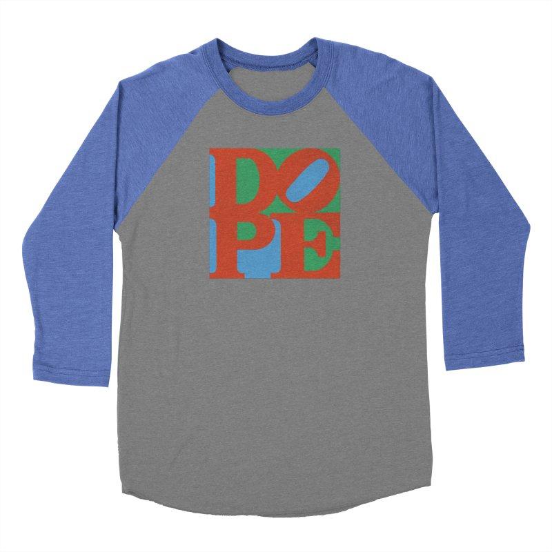 Dope Women's Baseball Triblend Longsleeve T-Shirt by Rodrigobhz