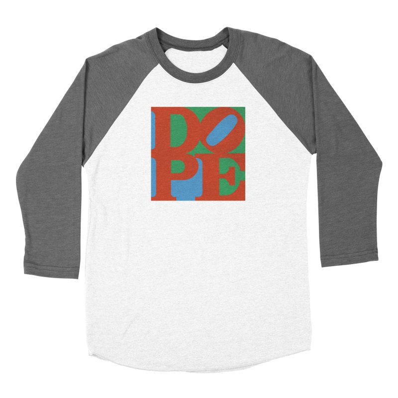 Dope Men's Baseball Triblend Longsleeve T-Shirt by Rodrigobhz