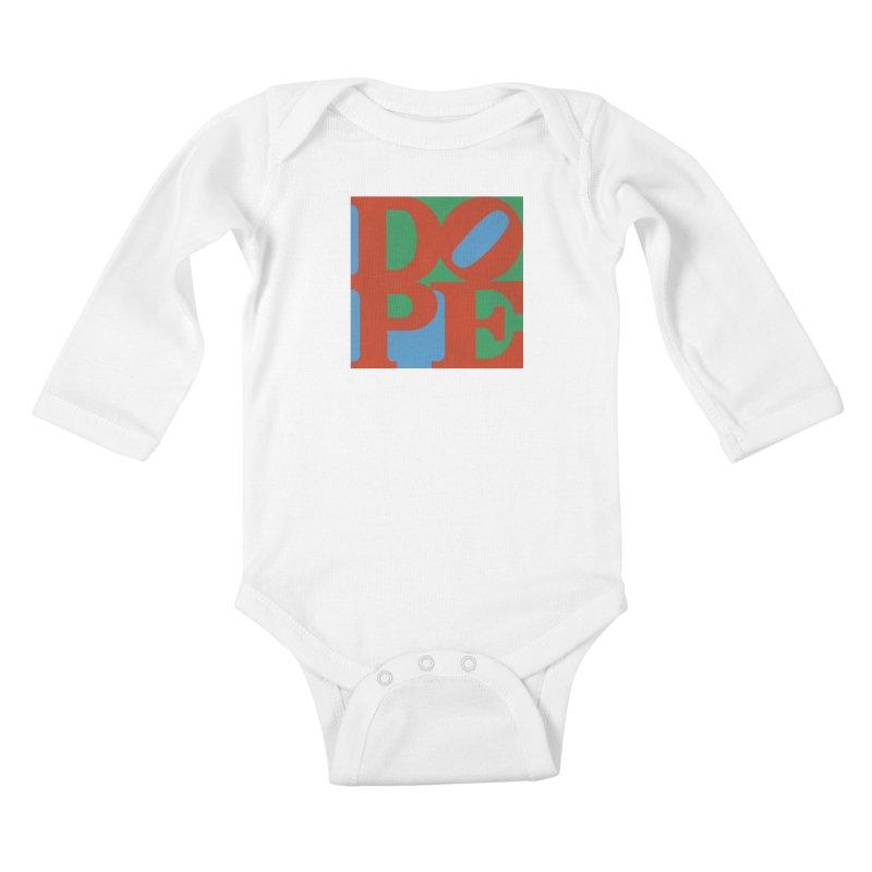 Dope Kids Baby Longsleeve Bodysuit by Rodrigobhz