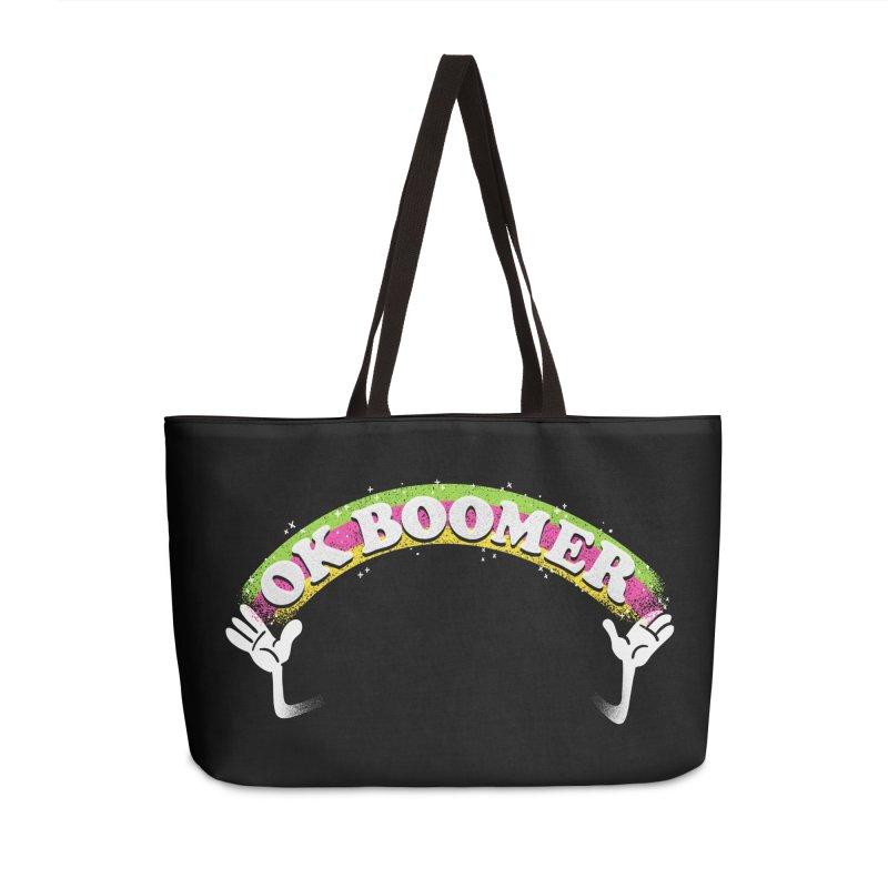 OK Boomer Accessories Weekender Bag Bag by Rodrigobhz