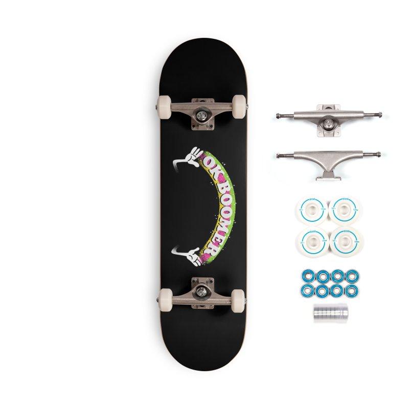 OK Boomer Accessories Complete - Basic Skateboard by Rodrigobhz