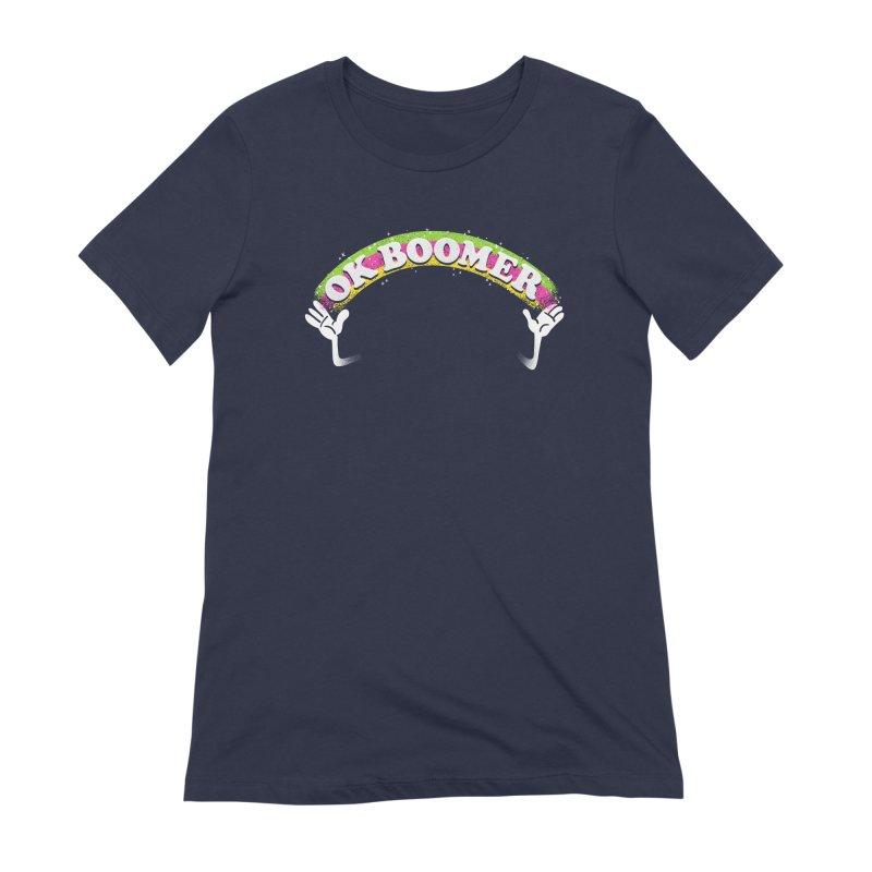 OK Boomer Women's Extra Soft T-Shirt by Rodrigobhz