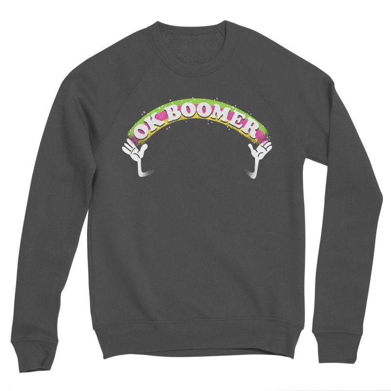 OK Boomer Men's Sponge Fleece Sweatshirt by Rodrigobhz