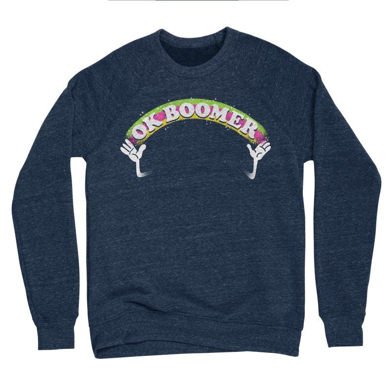 OK Boomer Women's Sponge Fleece Sweatshirt by Rodrigobhz