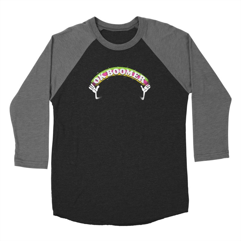 OK Boomer Men's Baseball Triblend Longsleeve T-Shirt by Rodrigobhz