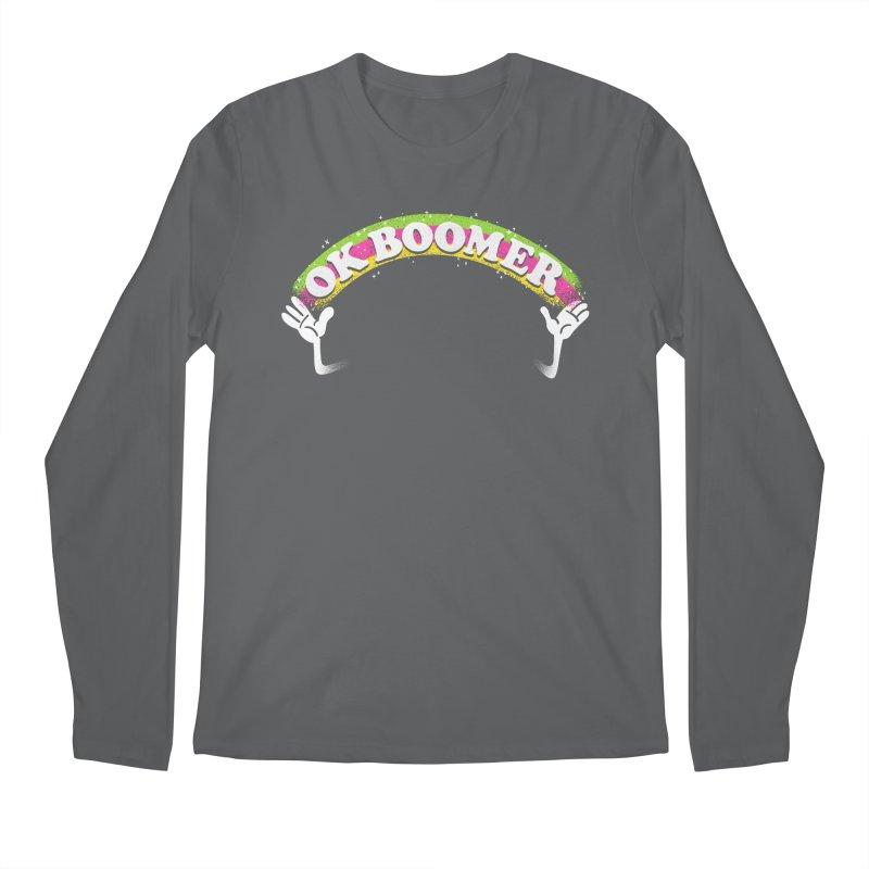 OK Boomer Men's Regular Longsleeve T-Shirt by Rodrigobhz
