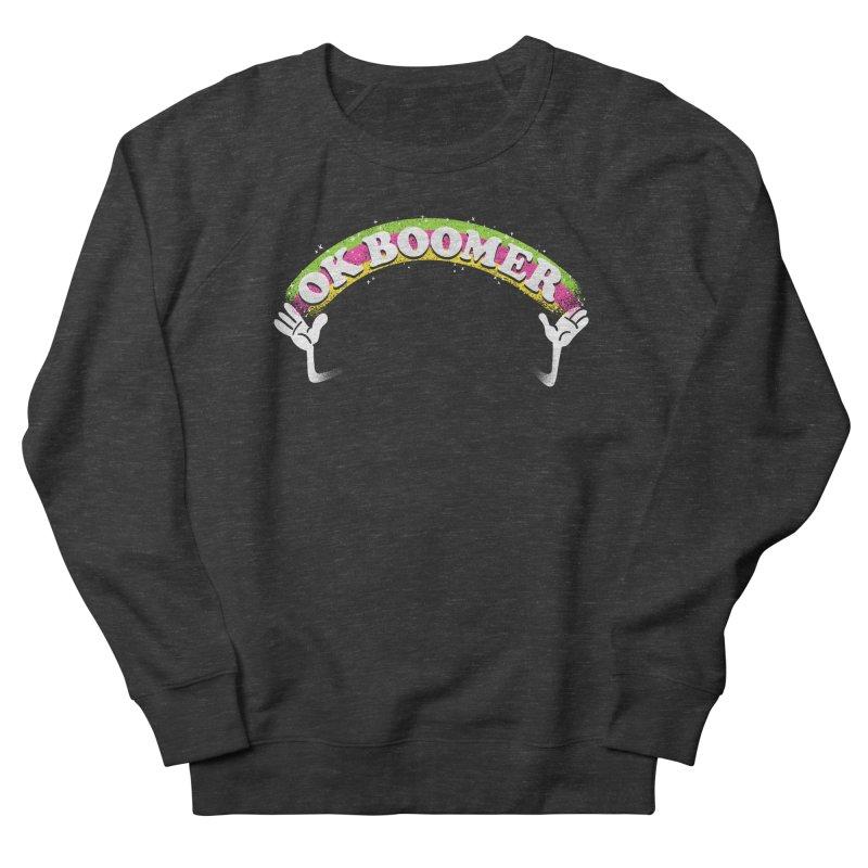 OK Boomer Men's French Terry Sweatshirt by Rodrigobhz