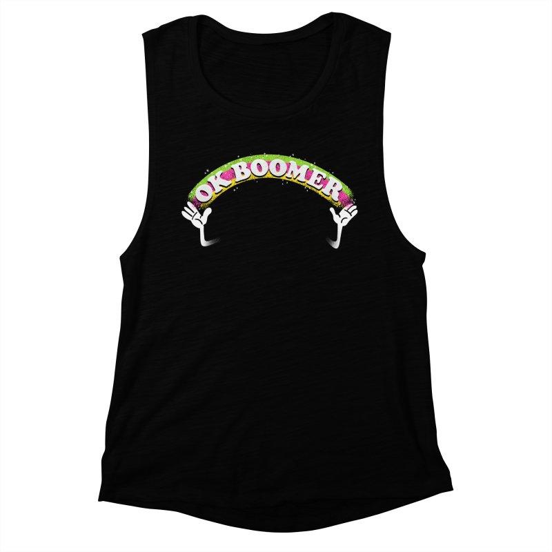 OK Boomer Women's Muscle Tank by Rodrigobhz