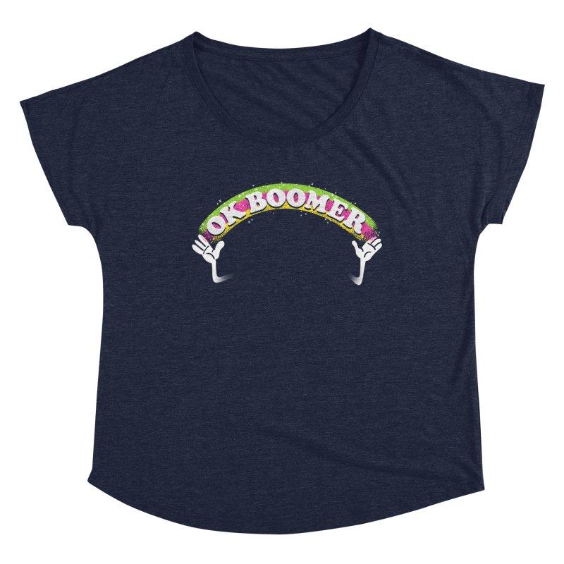 OK Boomer Women's Dolman Scoop Neck by Rodrigobhz