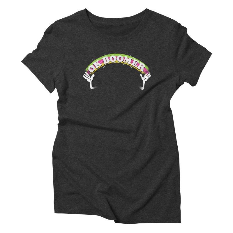 OK Boomer Women's Triblend T-Shirt by Rodrigobhz