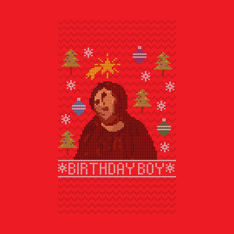 Ugly Jesus Sweater Men's Sweatshirt by Rodrigobhz