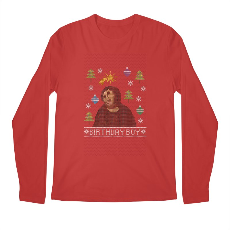 Ugly Jesus Sweater Men's Longsleeve T-Shirt by Rodrigobhz