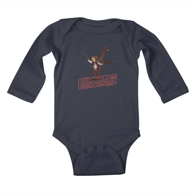 Star Wools Kids Baby Longsleeve Bodysuit by Rodrigobhz