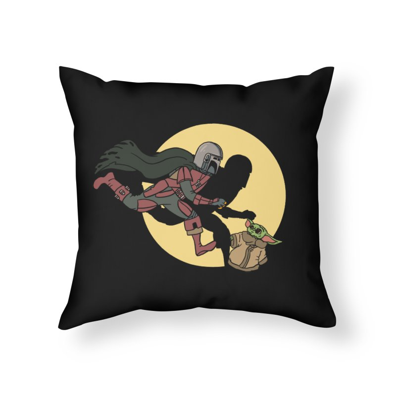 The Adventures of Mando Home Throw Pillow by Rodrigobhz