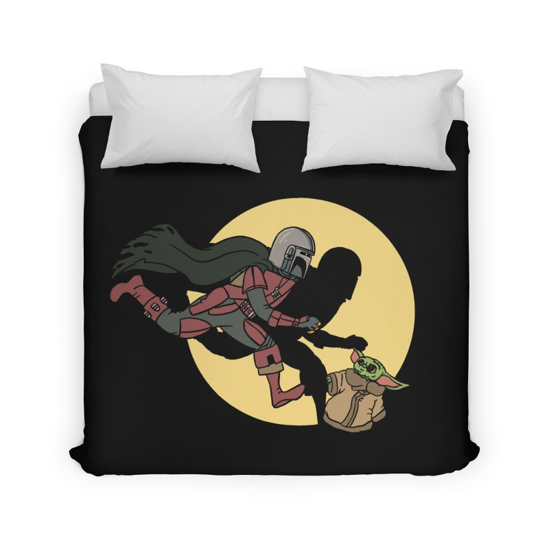 The Adventures of Mando Home Duvet by Rodrigobhz