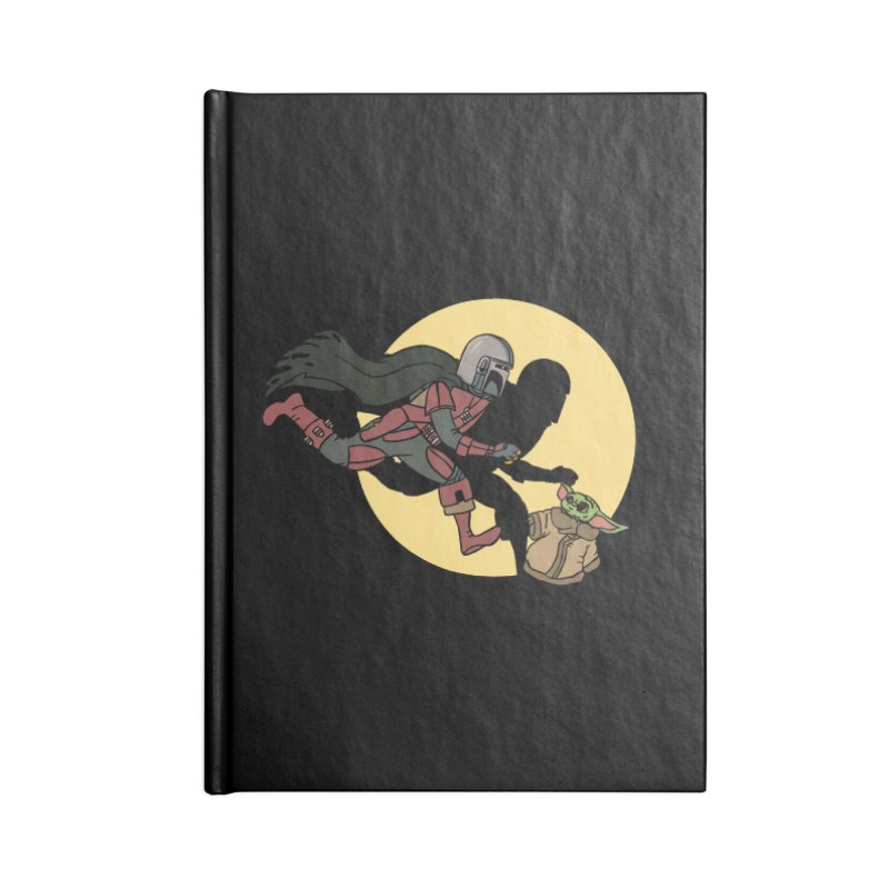 The Adventures of Mando Accessories Lined Journal Notebook by Rodrigobhz