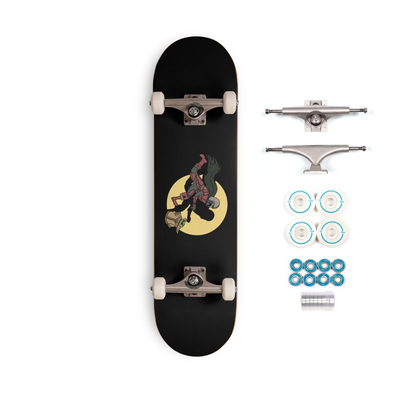 The Adventures of Mando Accessories Complete - Basic Skateboard by Rodrigobhz