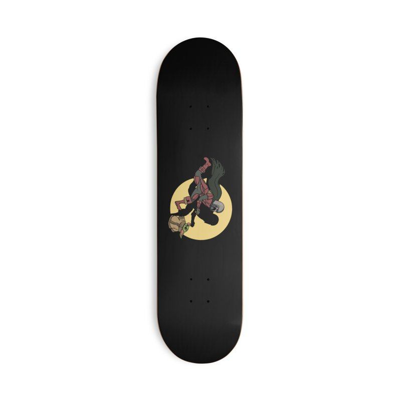 The Adventures of Mando Accessories Deck Only Skateboard by Rodrigobhz