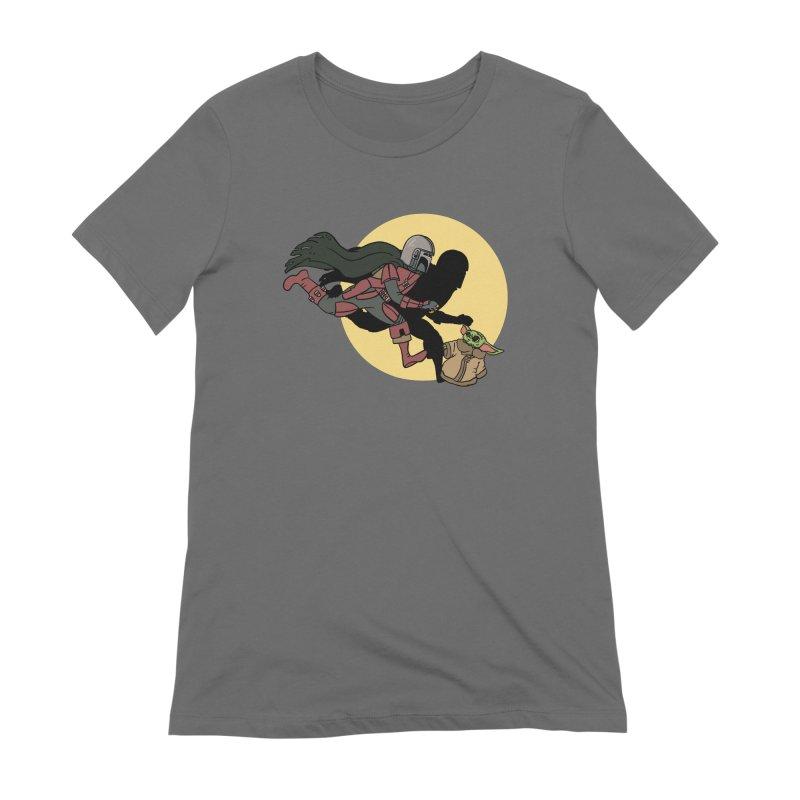 The Adventures of Mando Women's Extra Soft T-Shirt by Rodrigobhz