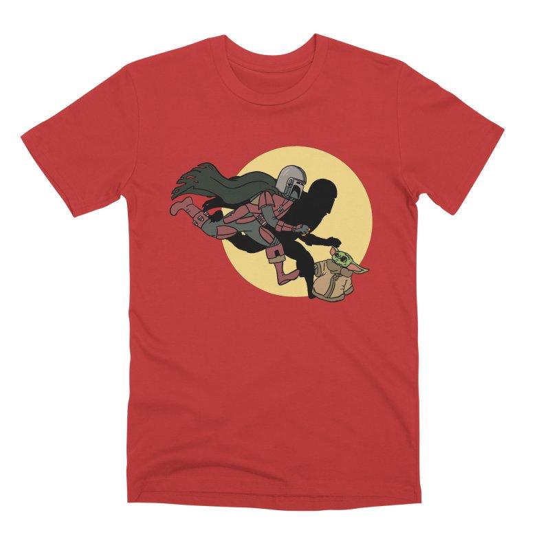 The Adventures of Mando Men's Premium T-Shirt by Rodrigobhz