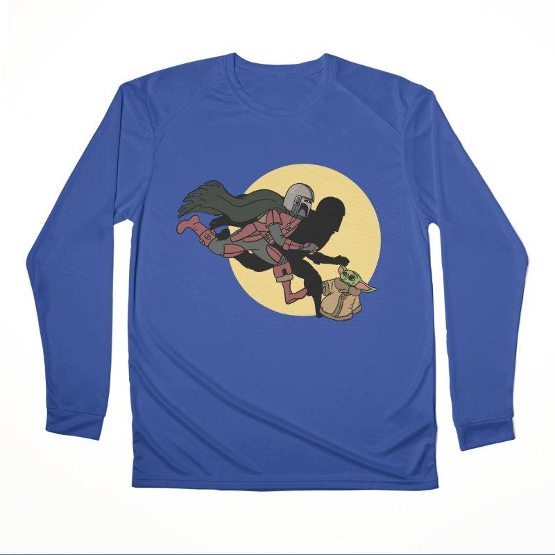 The Adventures of Mando Women's Performance Unisex Longsleeve T-Shirt by Rodrigobhz