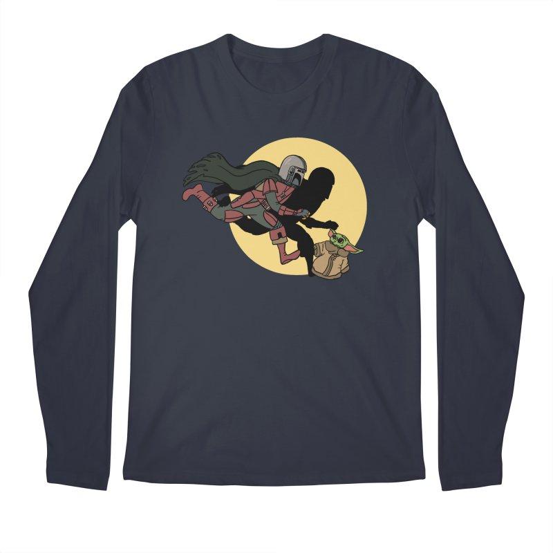 The Adventures of Mando Men's Regular Longsleeve T-Shirt by Rodrigobhz