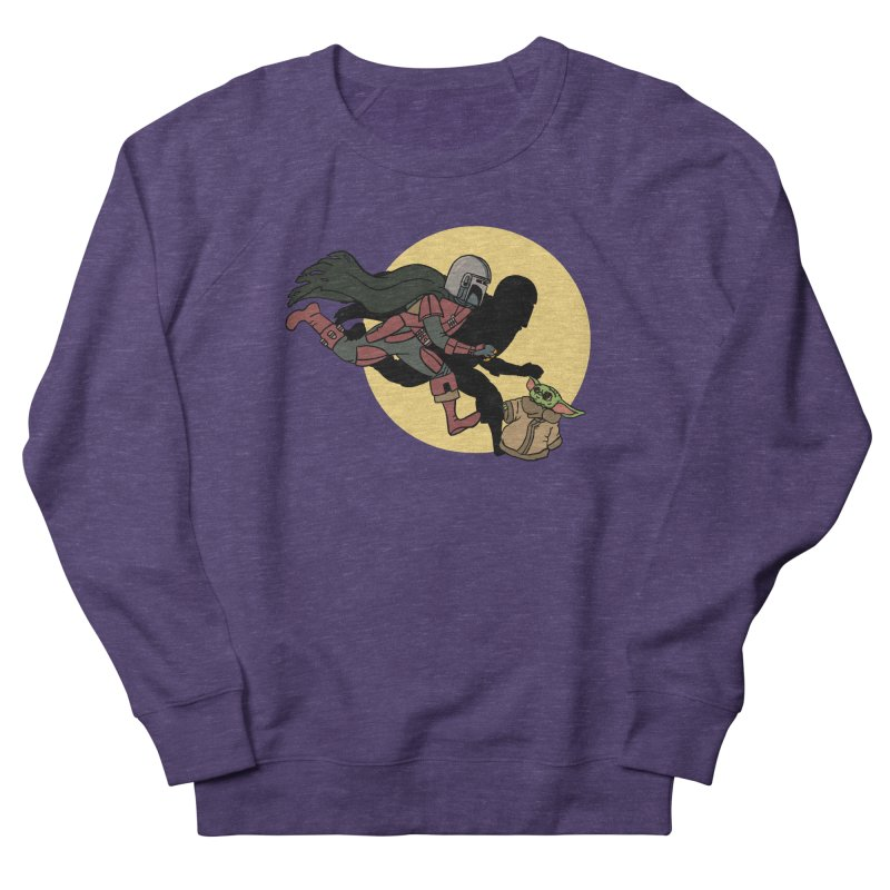 The Adventures of Mando Men's French Terry Sweatshirt by Rodrigobhz