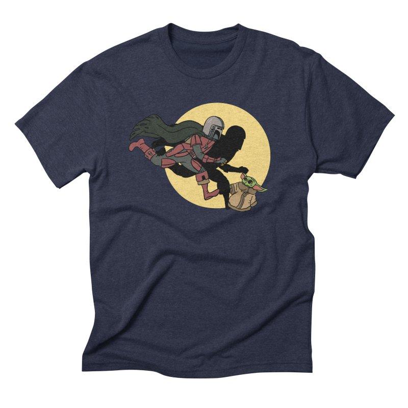 The Adventures of Mando Men's Triblend T-Shirt by Rodrigobhz