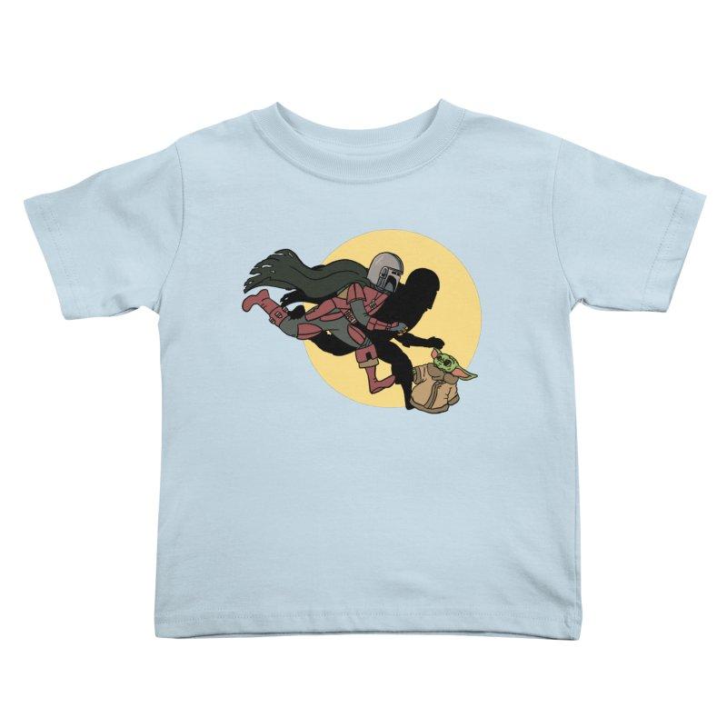 The Adventures of Mando Kids Toddler T-Shirt by Rodrigobhz