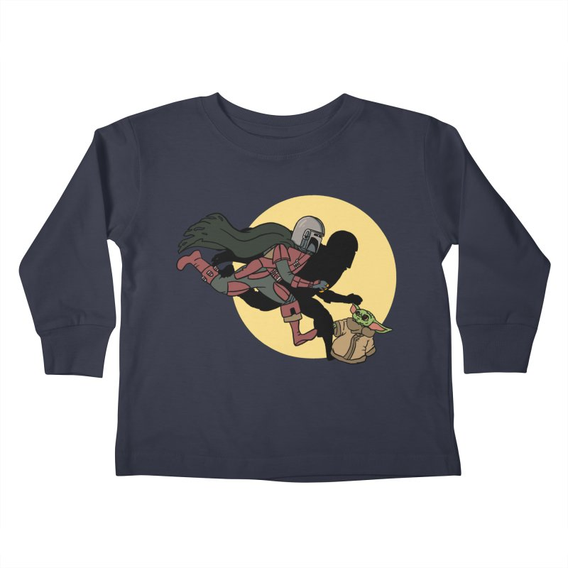 The Adventures of Mando Kids Toddler Longsleeve T-Shirt by Rodrigobhz