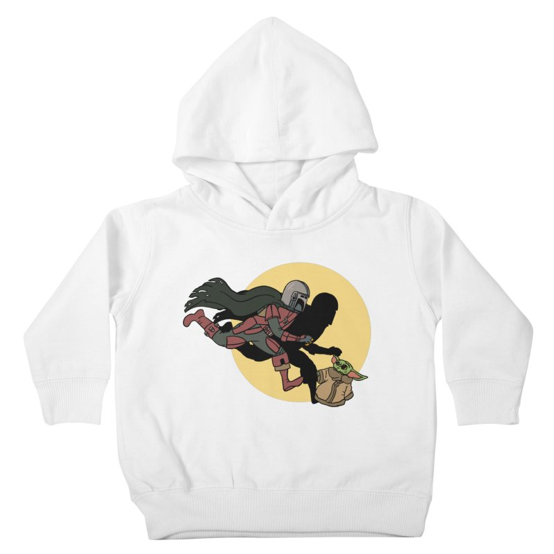 The Adventures of Mando Kids Toddler Pullover Hoody by Rodrigobhz