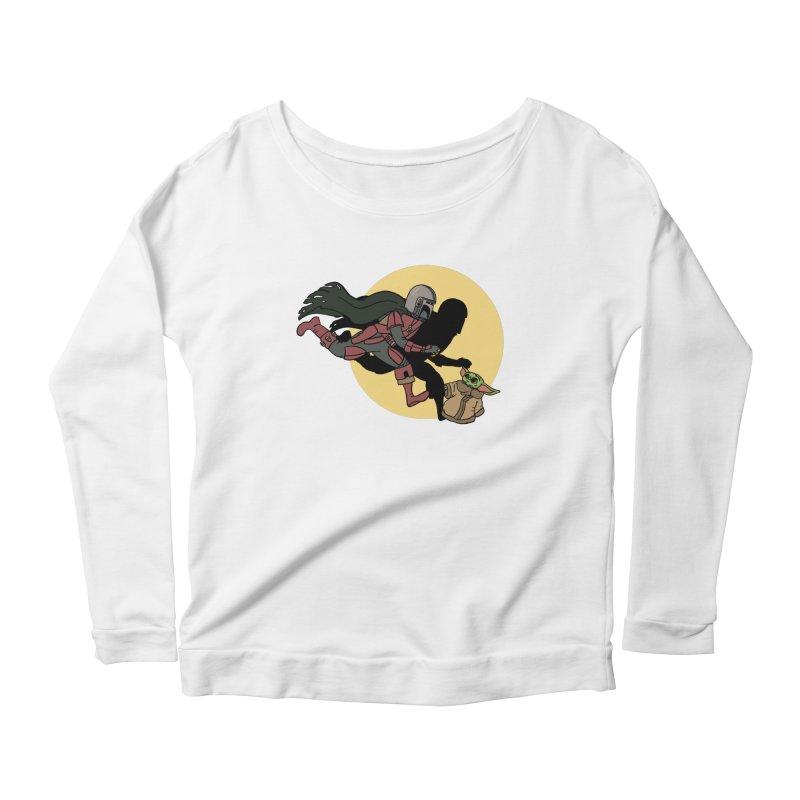 The Adventures of Mando Women's Scoop Neck Longsleeve T-Shirt by Rodrigobhz