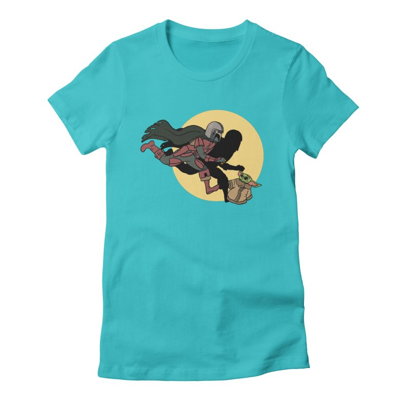 The Adventures of Mando Women's Fitted T-Shirt by Rodrigobhz