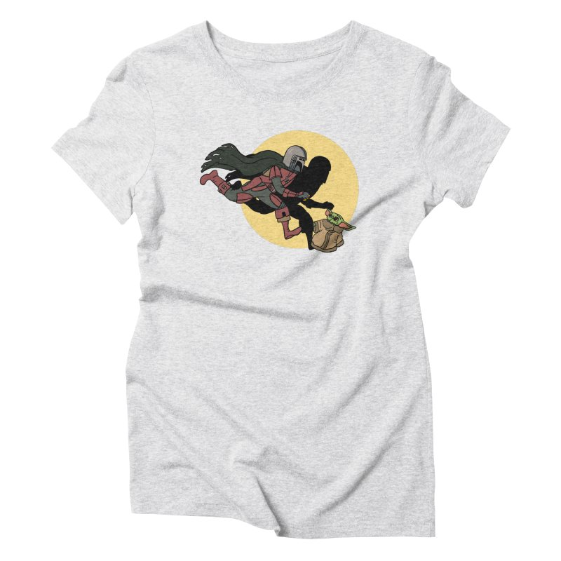 The Adventures of Mando Women's Triblend T-Shirt by Rodrigobhz