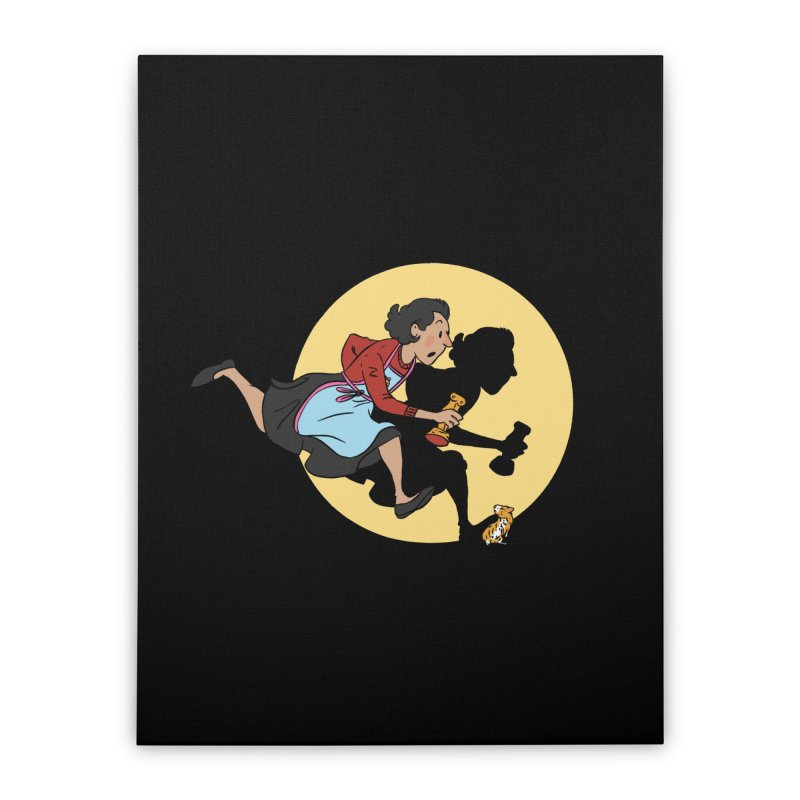 The Adventures of Fleabag Home Stretched Canvas by Rodrigobhz