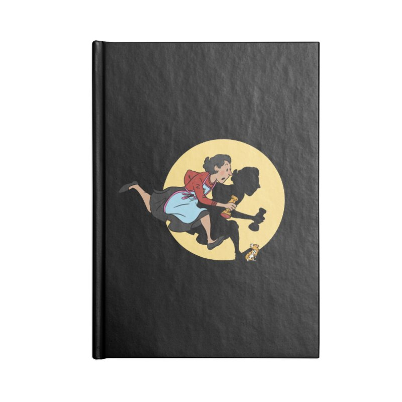 The Adventures of Fleabag Accessories Lined Journal Notebook by Rodrigobhz