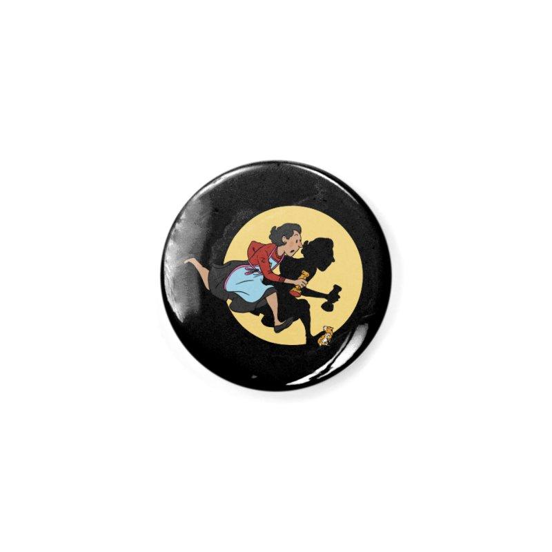The Adventures of Fleabag Accessories Button by Rodrigobhz